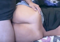 Romagaga dando o cu depois de ser acordada nua