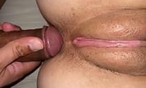 Menina de 18 anos transando no sexo anal com pirocudo