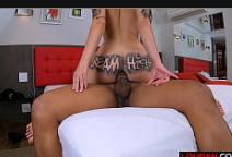 Aluna porno transando forte com pirocudo
